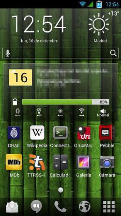 UMI X2 personalizado con Yandex Shell