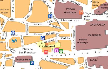 Plano calle cabo noval