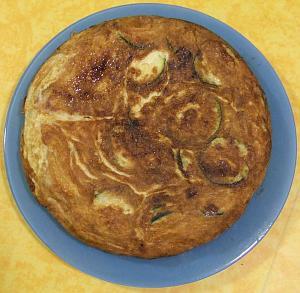 Tortilla de calabacines