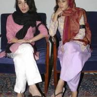 Fatima Bhutto & Sanam Bhutto