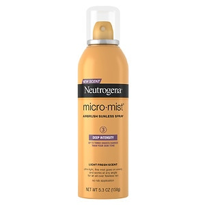 Neutrogena MicroMist Tanning, Sunless Spray, Deep