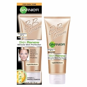 Garnier Skin Renew Miracle Skin Perfector BB Cream, Light/Medium