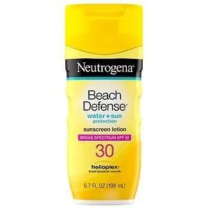 Neutrogena Beach Defense SPF 30 Sunscreen Lotion- 6.7 oz