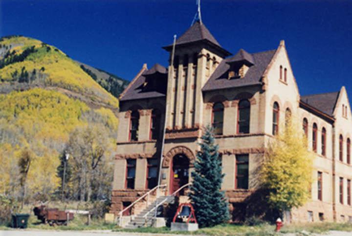 Rico CO Rico Colorado Courthouse Photo Picture Image