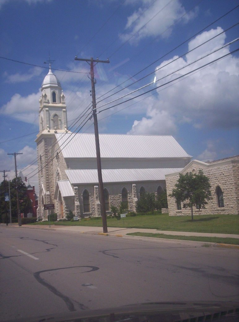 old church in Weatherford TX