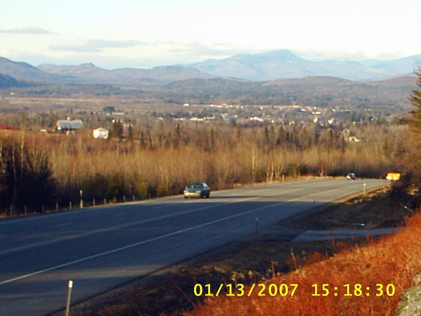 Lancaster NH Comming Into Town Via RT 2 Photo Picture