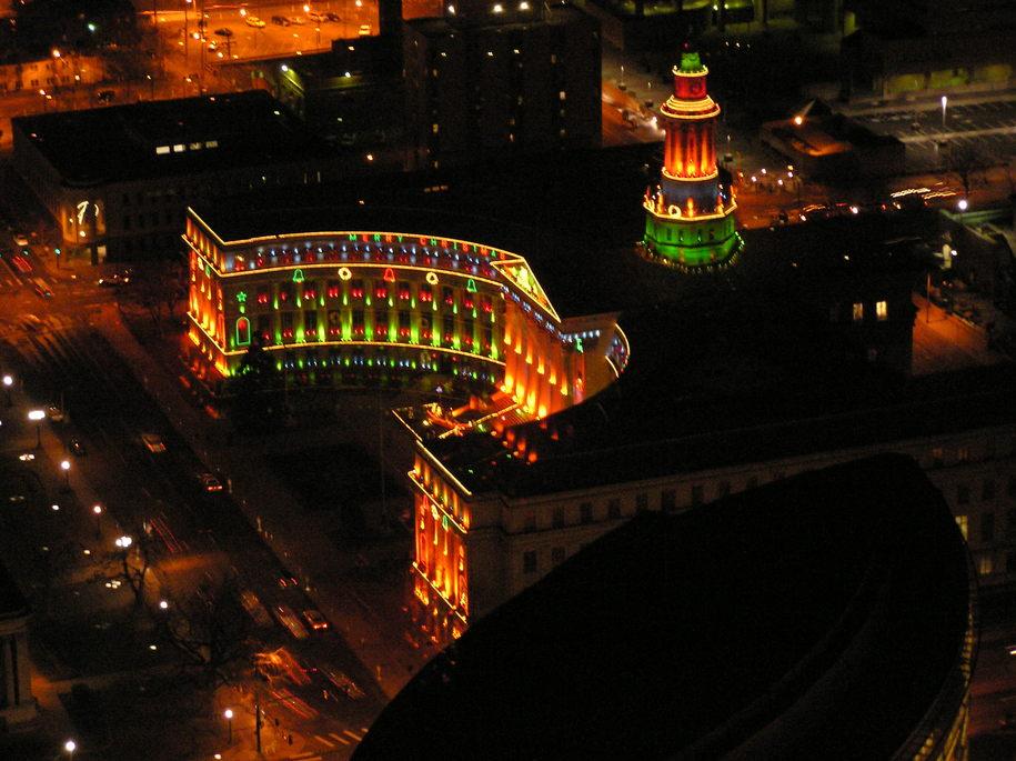 Denver CO Christmas Time Denver City And County