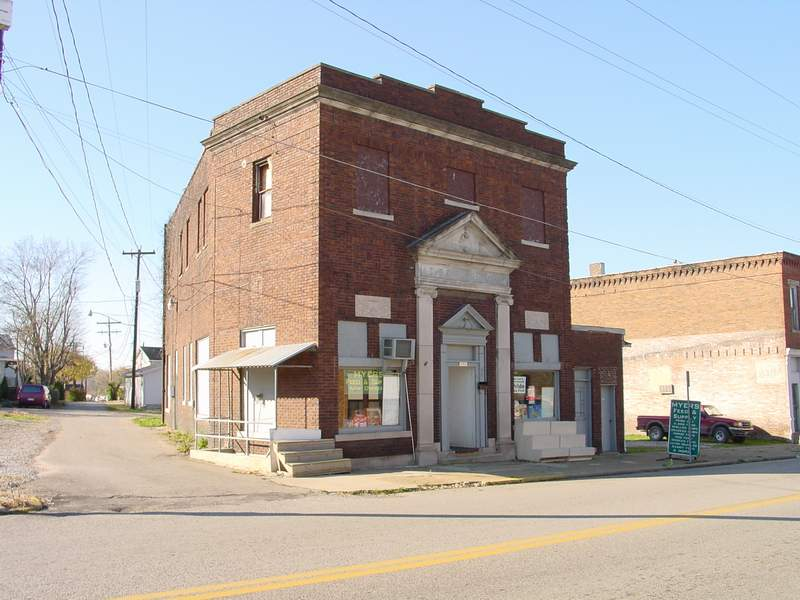 Oak Hill OH The Old Citizens Bank Built In 1919 Photo