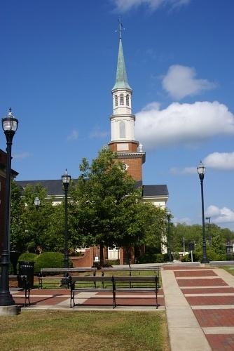 Alexander City AL Church On Court Square Photo Picture