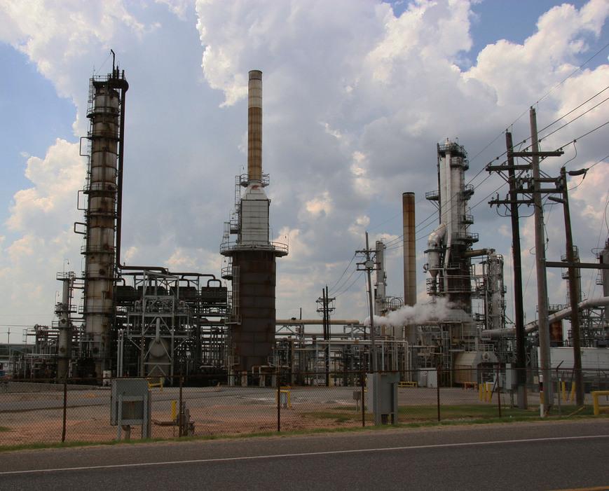 Wynnewood OK Refinery Photo Picture Image Oklahoma