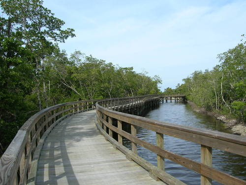 Bradenton FL Walkway In Robinson Preserve Photo