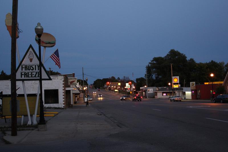 Marion Mi Main Street Photo Picture Image Michigan