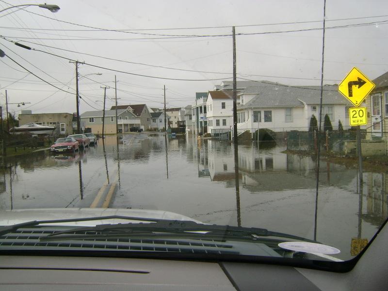 West Wildwood NJ West Wildwood Flood Photo Picture