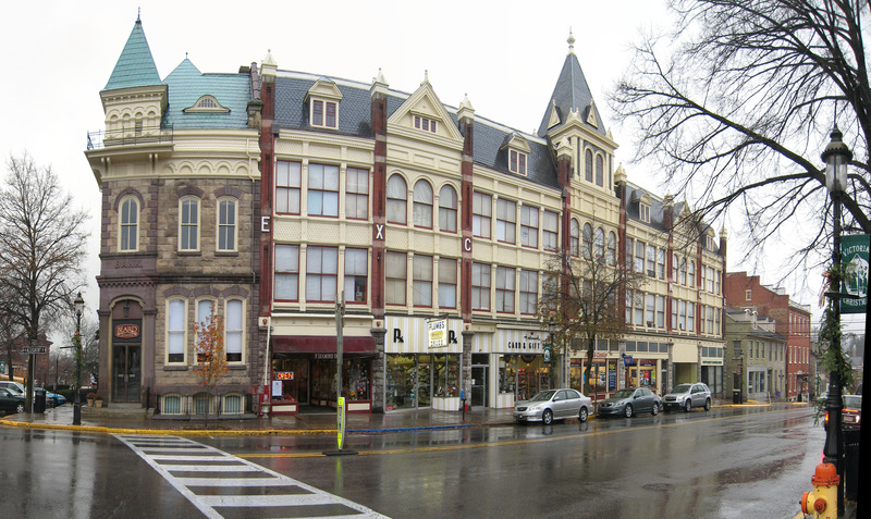 Bellefonte PA Exchange Building Down Town Photo Picture Image Pennsylvania At