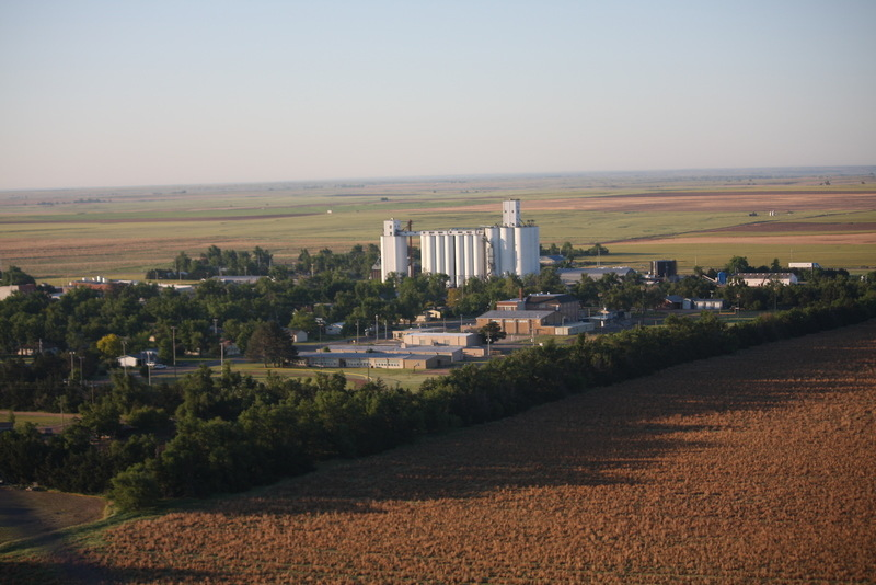 Haviland KS Haviland From The Air Photo Picture