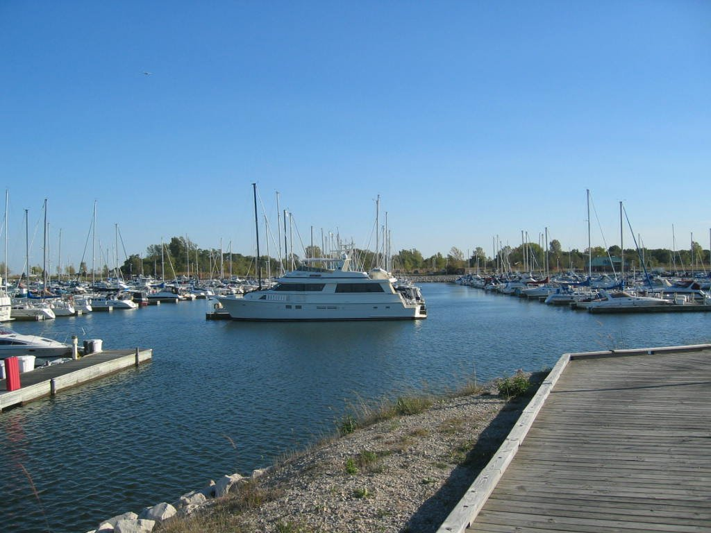 Winthrop Harbor IL North Point Marina Southern Side