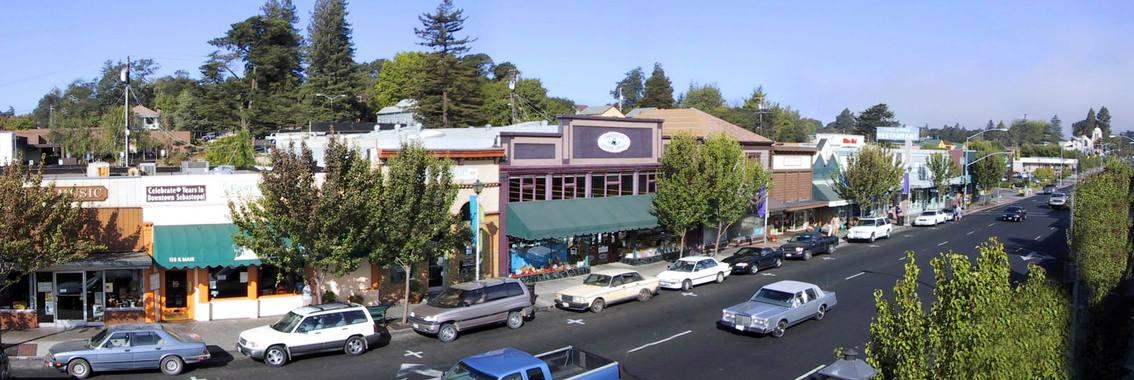 Sebastopol, CA: Main Street Sebastopol, CA