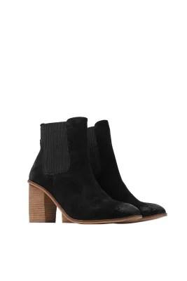 Esprit / Trendiga boots med blockklack