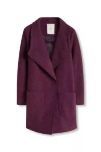 Mantel aus Woll-Mix