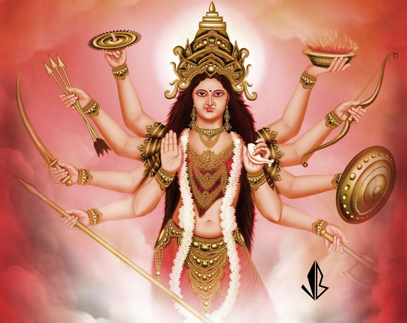 Wallpaper download bhakti - Hd Wallpaper Maa Durga Maa Adi Shakti Durga Beautiful Hd Wallpaper Happy Durga Puja Navratri Download