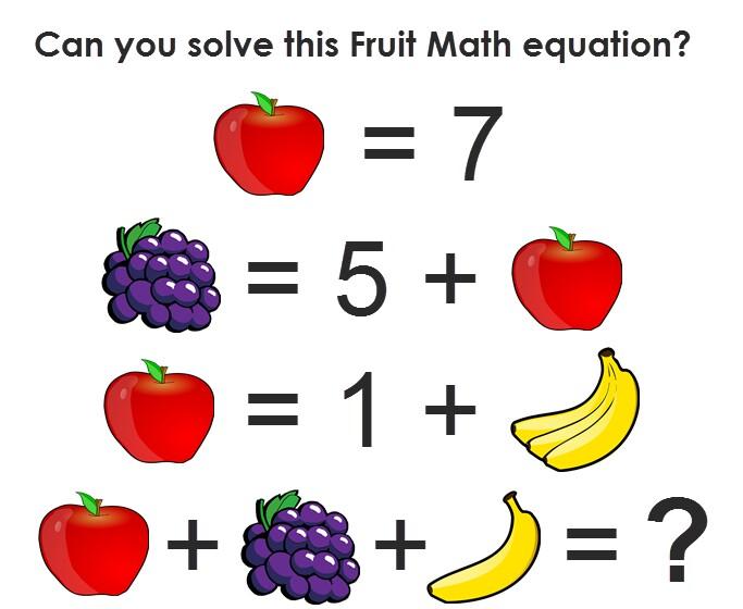 Pics Story | Apple, Banana & Grapes Puzzle - Best Fruit