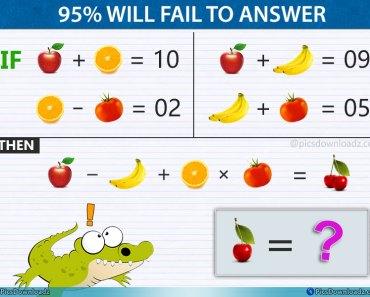 Apple Banana Genius Fruits Puzzle