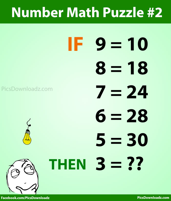 Number Math Puzzle 2 (Hard). Can you solve this High IQ Intelligence Number math puzzle test. Interesting Number Tricks Math Puzzles Problems and riddles. Only For Genius Math Puzzle Problems