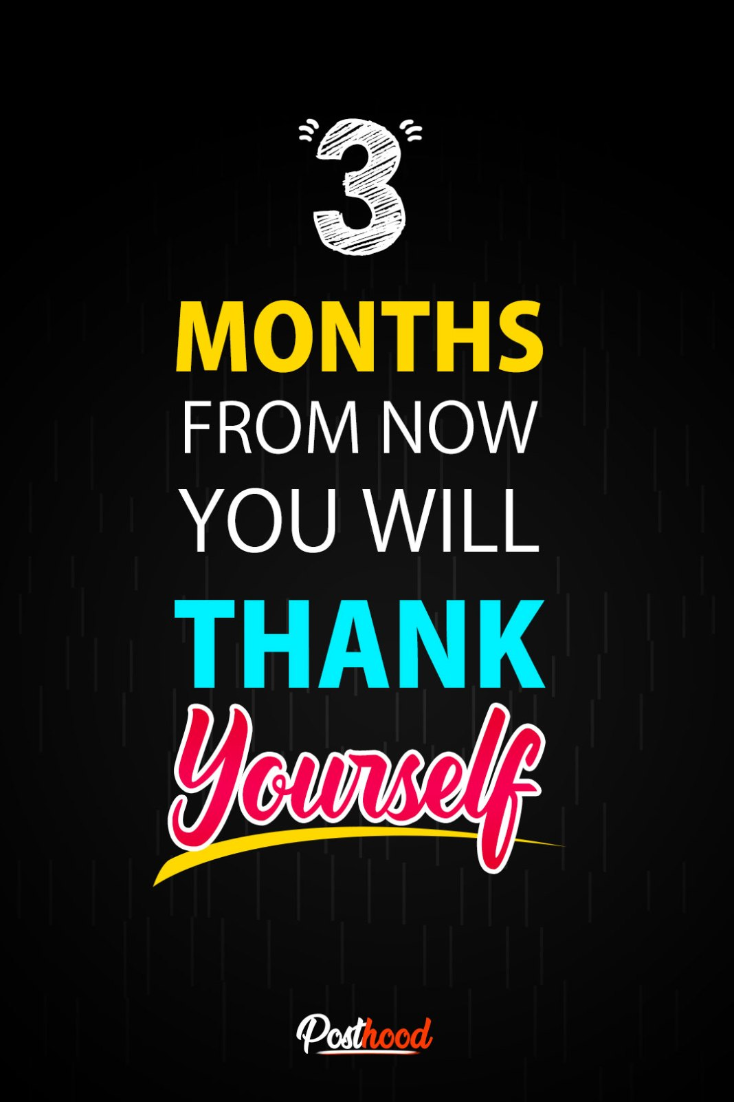 Three Months from now you will thank yourself!!! Fitness Motivational quotes