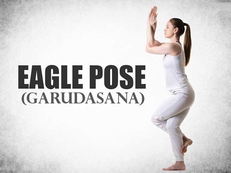 Eagle-Pose-Garudasana