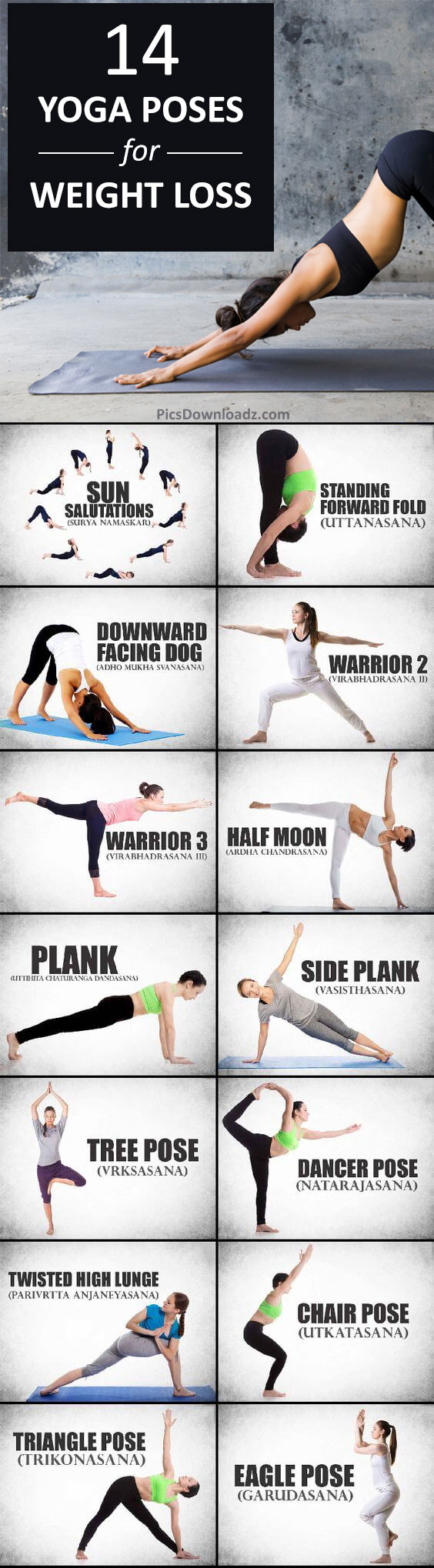 14 Morning Yoga for Weight Loss: Quick Fat Burning Yoga Routine for Beginners