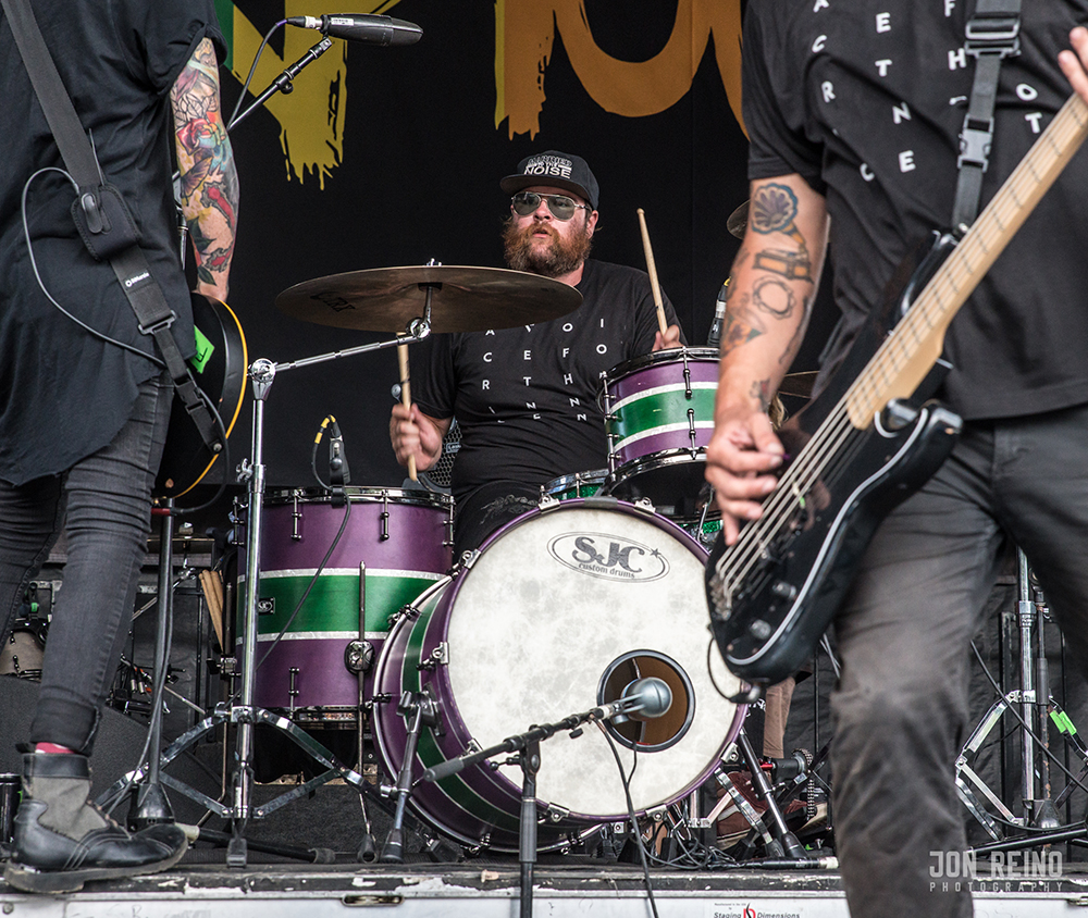 Pics in the Pit - Sharptooth at Vans Warped Tour 2018
