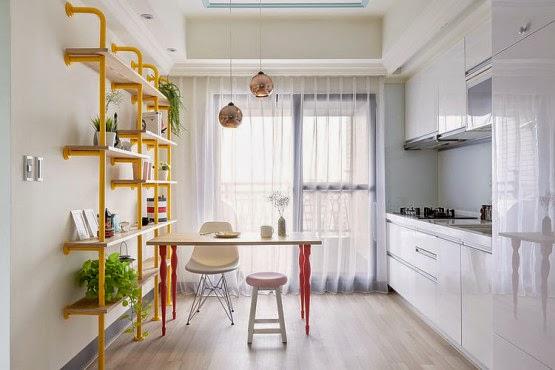 Appartement Lumineux Et Dcoration Colore Picslovin