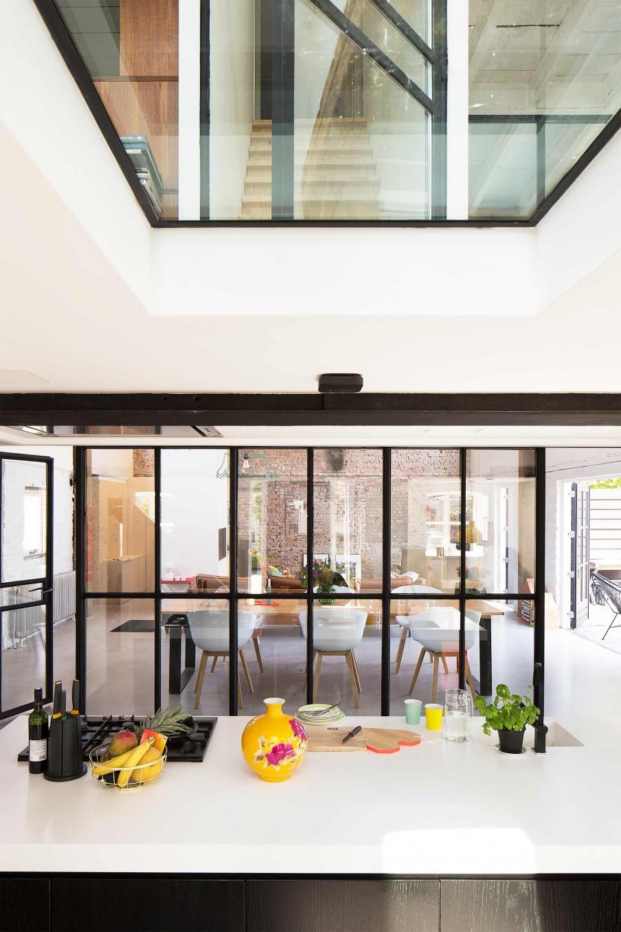 Verrire Style Atelier Dans Un Loft Rnov