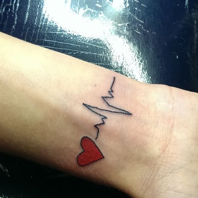 most-amazing-heartbeat-love-ekg-tattoo-design-idea-for-women-wrist