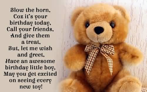 Amazing Birthday Wishes For Baby Boy