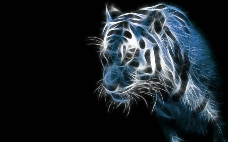 amazing-design-of-the-bright-tiger-hd-wallpaper Amazing Animal Wallpaper