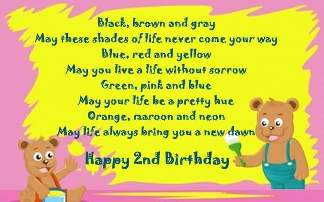 Awesome 2nd Birthday Wishes For Baby Boy