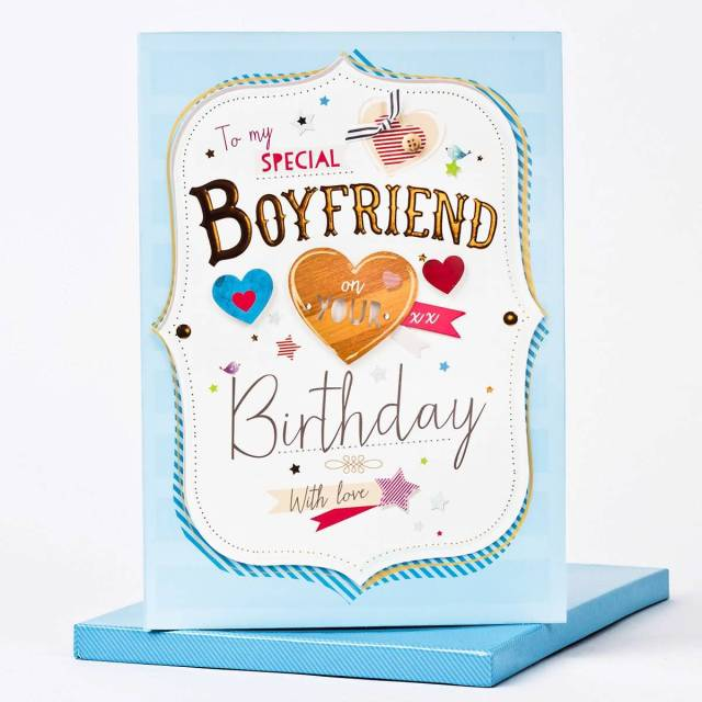 Awesome Birthday Greetings Card For Special Boyfriend