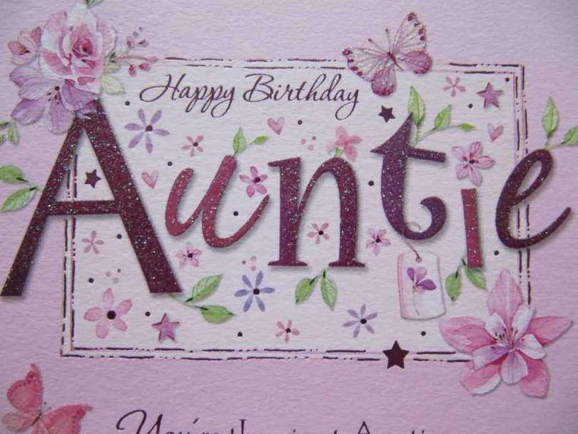 Awesome Birthday Wishes For Wonderful Aunt