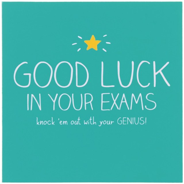 Awesome Good Luck In Your Exams Image