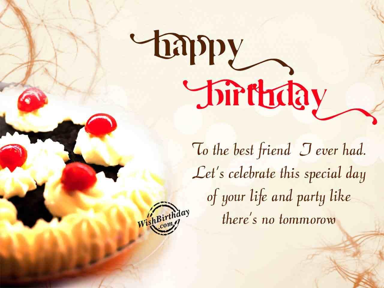 38 Fantastic Dear Friend Birthday Wishes For Everyone Happy Birthday Wishes For Best Friend