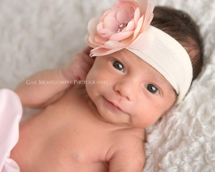 Baby Flower Headband Picture