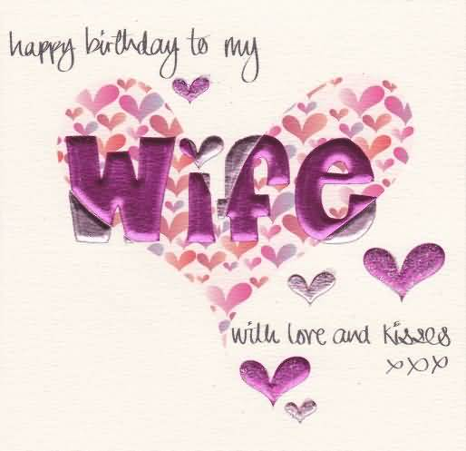 Beautiful Birthday E-Card For Wife