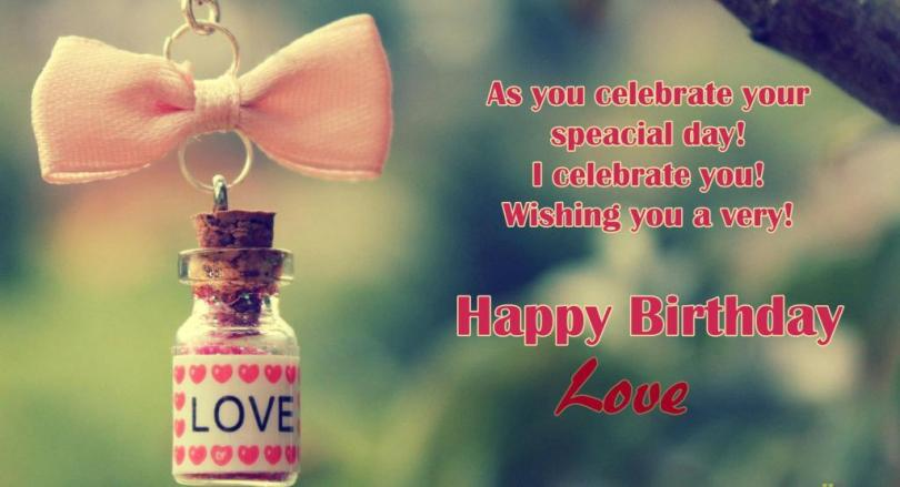 Beautiful Girlfriend Birthday Wishes Wallpaper