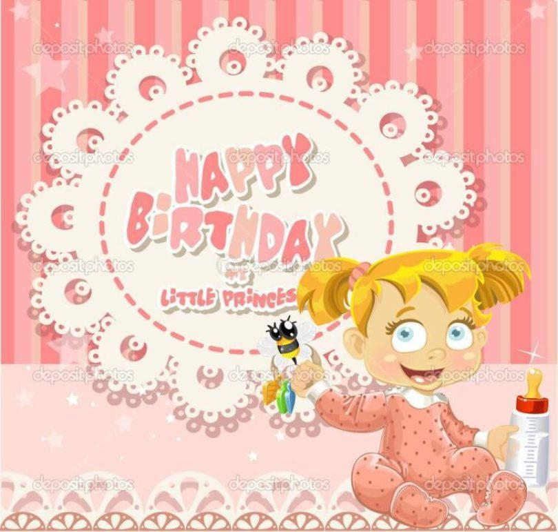 Beautiful Happy Birthday Baby Girl