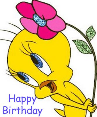 Beautiful Happy Birthday Wishes Tweety Image