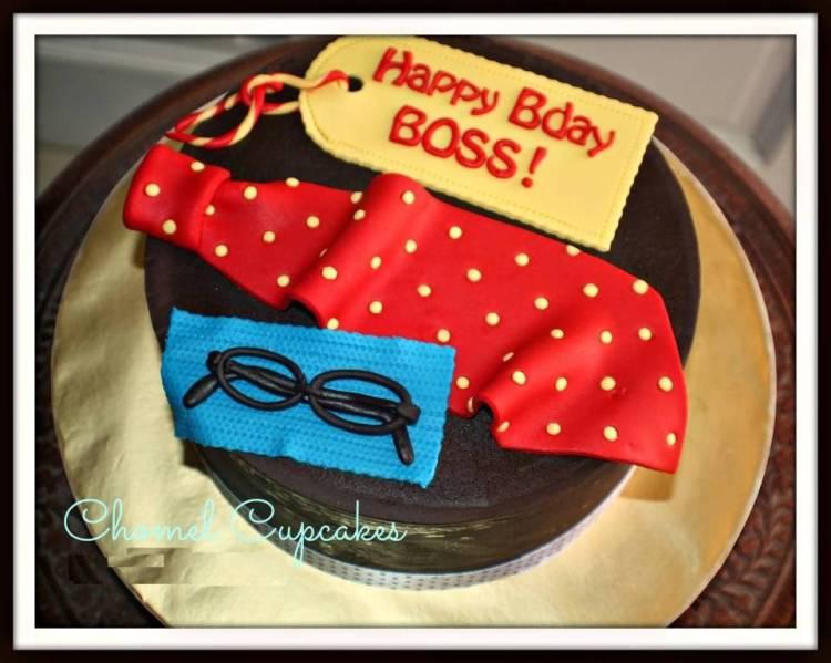 Best Birthday Wishes Cake For Boss