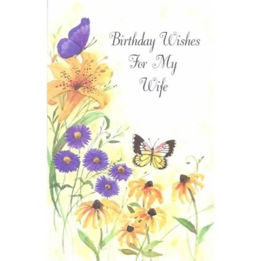 Birthday E-Card For Wife