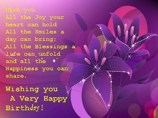 Birthday God Blessing Wishes For Someone Special