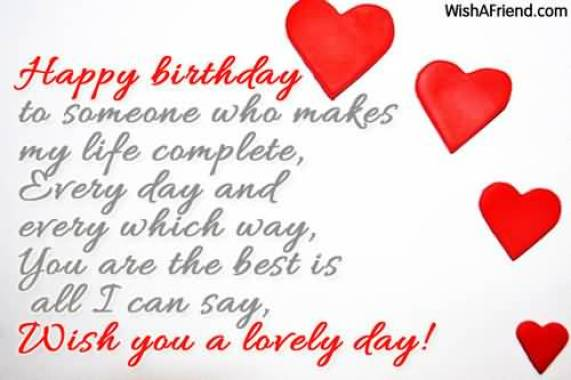 Birthday Message For Lovely Wife